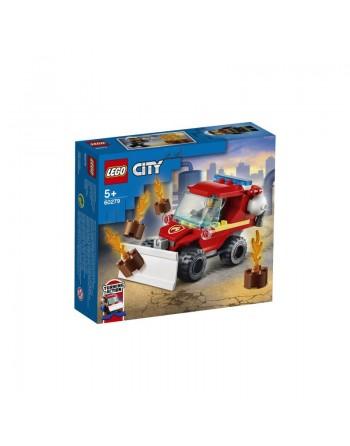 LEGO CAMION DEI POMPIERI 5+
